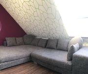 Gemütliches Sofa in L-Form