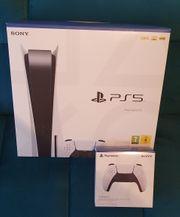 Playstation 5 inkl zweitem Controller