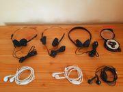 6 Kopfhörer InEar Kopfhörer Headset