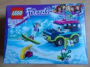 Lego Friends Geländewagen im Wintersportort
