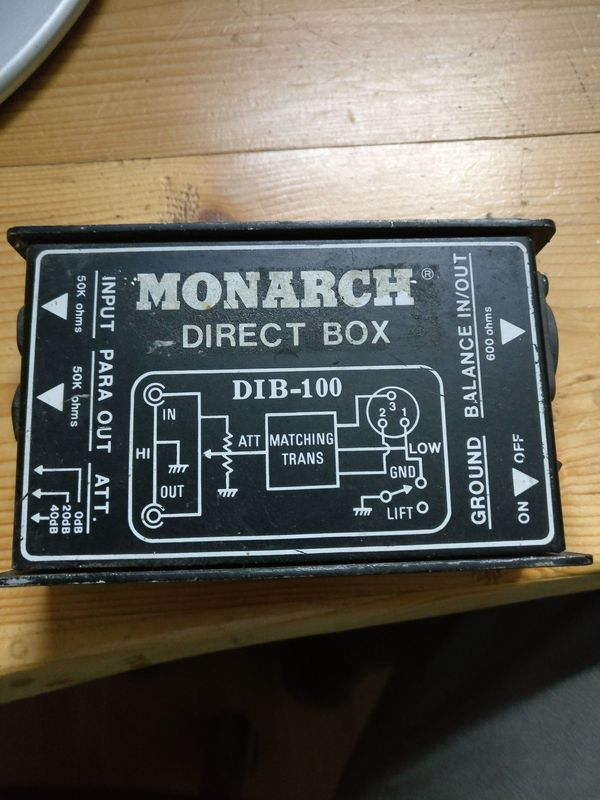 Monacor Direct Box