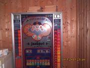 Spielautomat Rotamint - Jackpot DM Einwurf