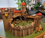 Große Löwenritterburg von Playmobil mit