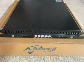 Powersoft X4 Dante Power Amplifier 4 x 3000w