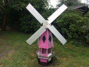 Windmühle Unikat handgefertigtes aus Edelstahl