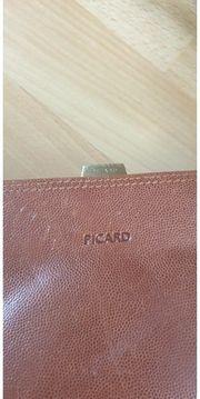 Picard Lederhandtasche Braun