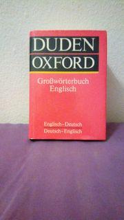 Neuwertiger originaler OXFORD Duden Deutsch-Englisch