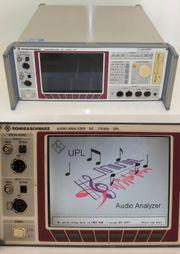 Rohde Schwarz Audio Analyzer UPL