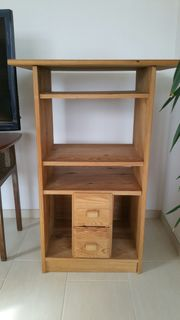 Hifi Rack aus Holz