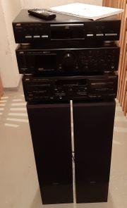 Stereoanlage JVC inkl Boxen von