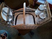 Neuer Picknickkorb 11tlg mit Kühltasche