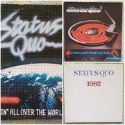 3 Schallplatten LPs STATUS QUO