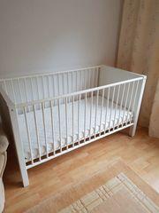 Kinderbett mit Matraze 70x140