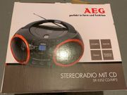 AEG Stereoradio mit CD
