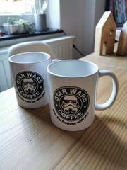 2 Star Wars coffee Tassen