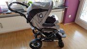 Kinderwagen Emmaljunga Buggy Babywanne mit