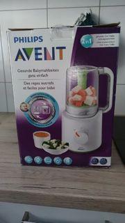 Babybrei Dampfgarer Mixer von Avent