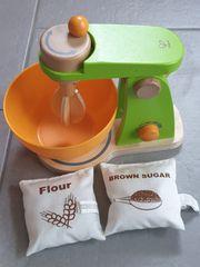 Hape Holz Kinder-Küchenmaschine sehr guter