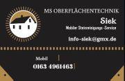 Mobile Steinreinigungsservice Siek