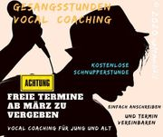 Vocal Coaching Gesangsunterricht