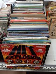 Vinyl LPs 60er 70er Sampler