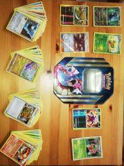 Pokemon Tin Box mit 80