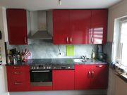 Küche inklusive Elektrogeräten