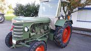 Traktor hürlimann H10 Benziner selten