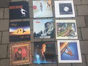 Schallplatten Raritäten 9 Stück Vinyl