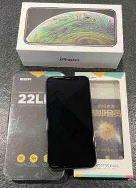 IPhone XS 256 GB + Schutz