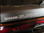 NISSAN SUNNY COUPE - B12 - Schrift