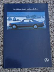 Mercedes S-Klasse-Coupés Prospekt Hochglanz von