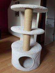 Katzenkratzbaum Trixie beige gebraucht