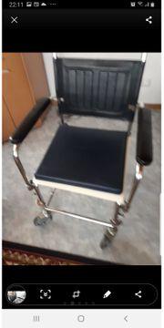 Rollstuhl Wc Stuhl Toilettestuhl Wcstuhl