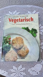 Neuwertiges Kochbuch Vegetarisch für Feinschmecker
