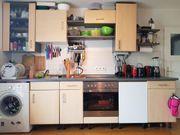Küche Einbauherd Kochfeld Einbau-Kühlschrank ab