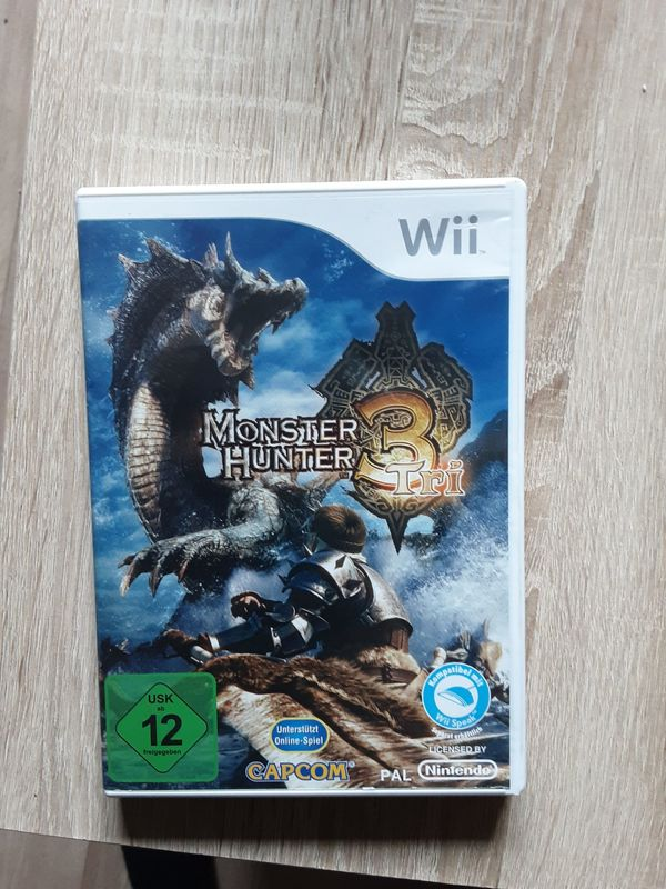 Monster Hunter 3 Tri Wii