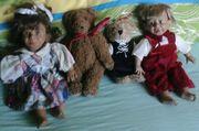 Sammelpuppen und Teddys naturgetreu