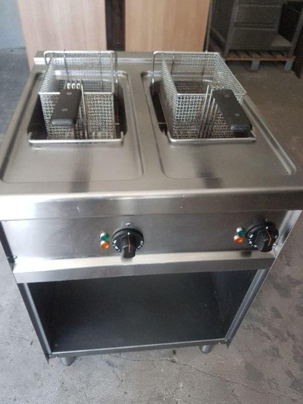 Gastro Doppel Fritteuse 400V