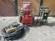 Elektro-hydraulische Wandsägeanlage