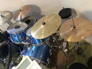 Schlagzeugset komplett mit Tama Kesselsatz
