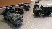 Rocco militärfahrzeuge 4verschiedene Gruppen