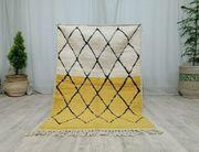 Marokkanische Handarbeit Vintage Teppich