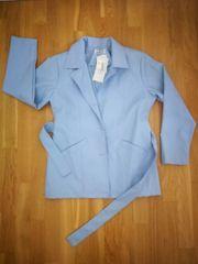 Jacke Damen Gr M hellblau