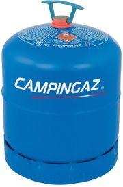 Gebrauchte leere Campingaz 907 Butan-Gasflasche