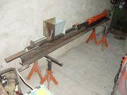 Brikettpresse Eigenbau Brennholz Presse Hydraulik