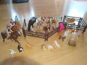 Schleich Tiere Pferde Reiter Kuh