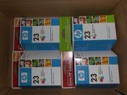 Neue Originale Druckerpatronen HP 23Color