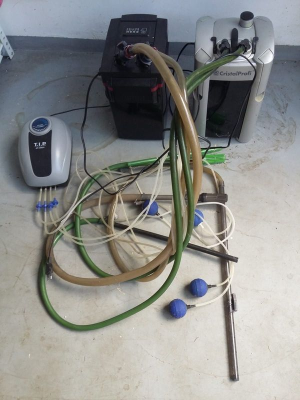 Filter und Pump für für