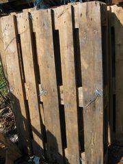 Holzpaletten zu verschenken